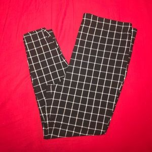 Forever 21 Grid Print Pant *Plus Size*